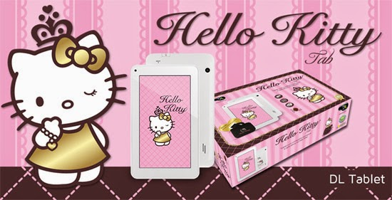 Tablet da Hello Kitty