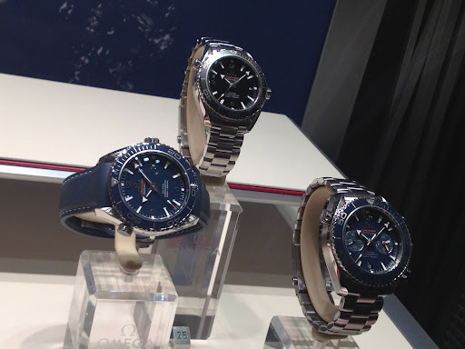 I also like these sporty styles for men from Omega.