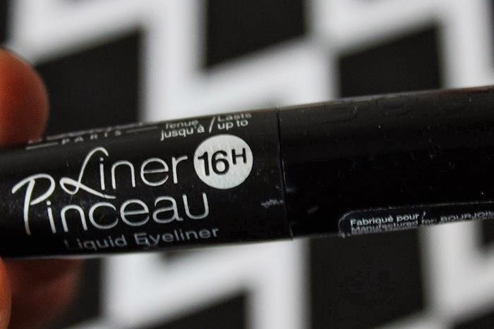 Bourjois 16hr Linear Pinceau Liquid Liner review swatch