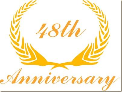 48th anniversary