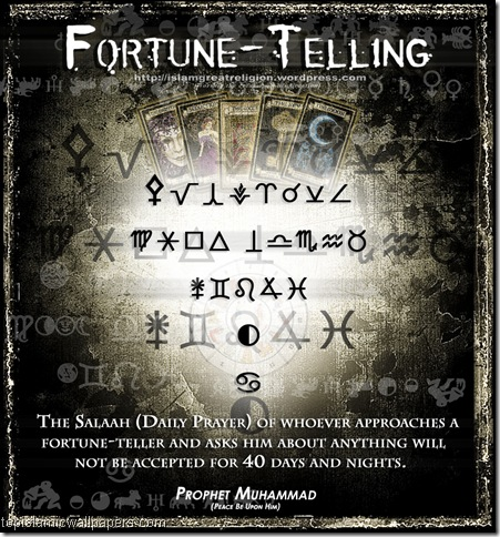 fortune-telling in-islam_Prophet_Muhammad_Quotes_Poster