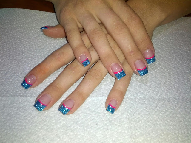 Gel Nails and Glitter Toes in St George UT. | Gel Nails and Toes by