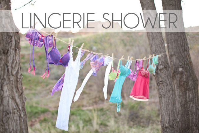 Lingerie Shower