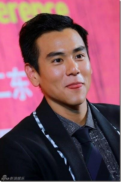 2014.06.12 Eddie Peng during Rise of the Legend - 彭于晏 黃飛鴻之英雄有夢 北京 - 揭幕国际版海报 03