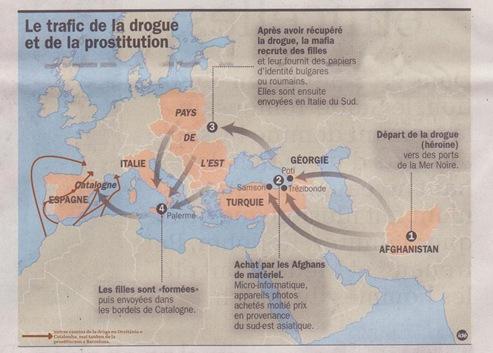 Mapa dels trafics de prostitucions segon la DDM suplementari