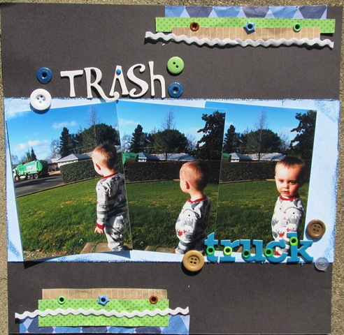 Blake 2nd- trash truck