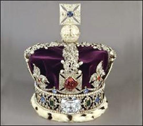Corona Imperial de Estado- joyas del Reino Unido