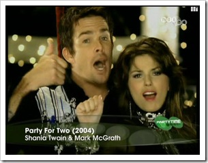 Shania Twain & Mark McGrath - Party for two