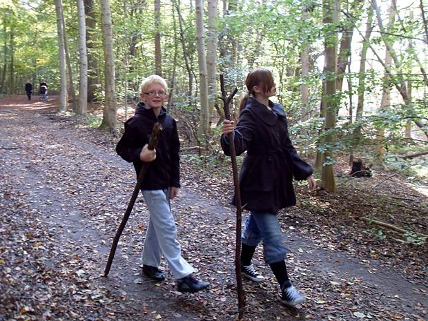 Skovtur omkring Herlufsholm