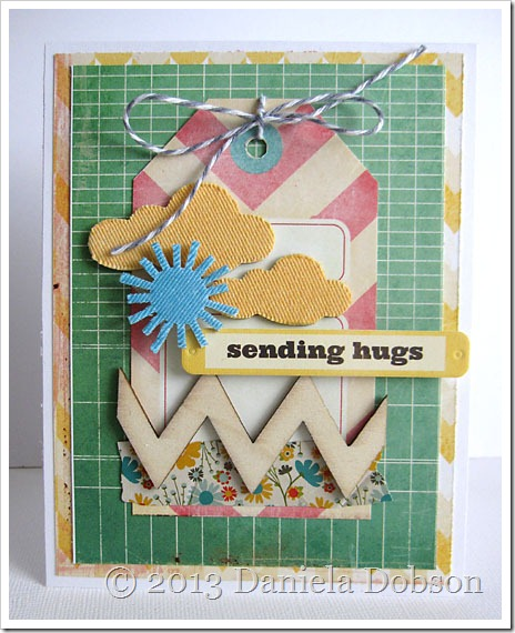 Sending hugs by Daniela Dobson