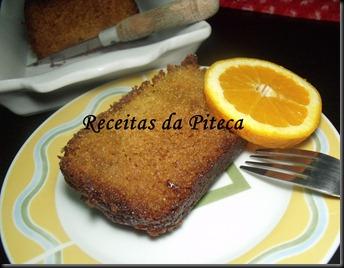 Bolo de laranja (Sticky orange cake) da Nigella- fatia