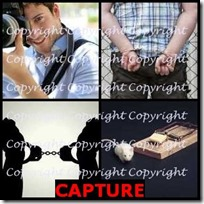 CAPTURE- 4 Pics 1 Word Answers 3 Letters