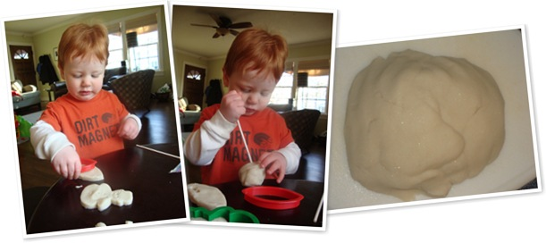 View Snow Play Dough