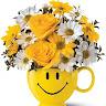 flores amarelas e