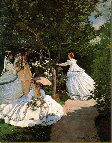 MONETLadies in garden