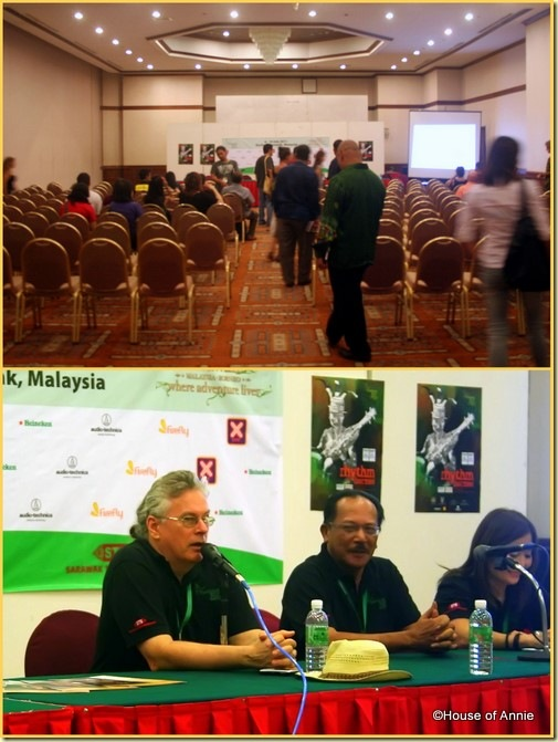 Raiforest World Music Festival press conference with Randy Raine-Reusch