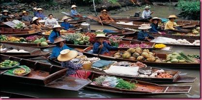 Foto Thailandia il Mercato 3