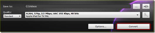 แปลงไฟล์วีดีโอเป็น apple ipad