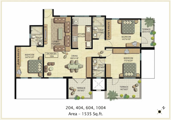 Texas Casual Cottages Floor Plans