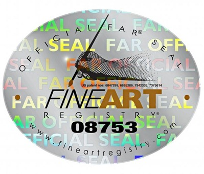 fine art registry seal