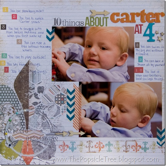 Ten things about carter at 4