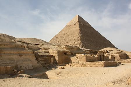 Imagini Egipt: La piramide