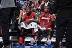 lebron james nba 120203 mia at phi 02 King James Unveils New Shoe   Black/Red/White LEBRON 9