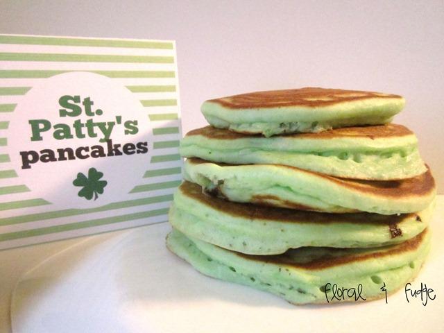 green-pancakes