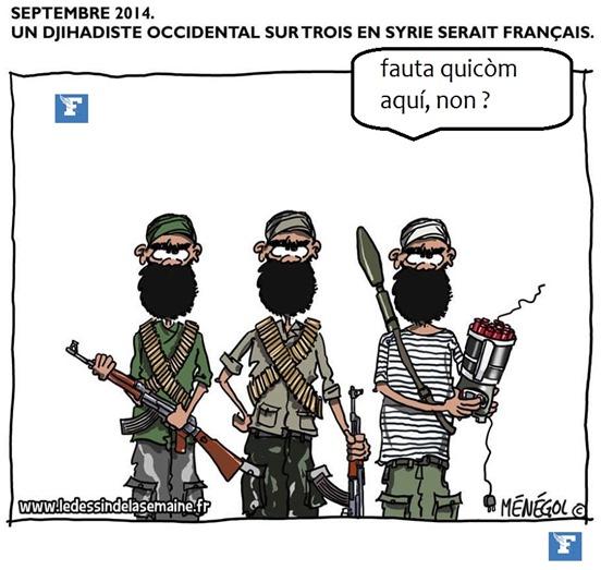 Dessenh d'umor de Le Figaro