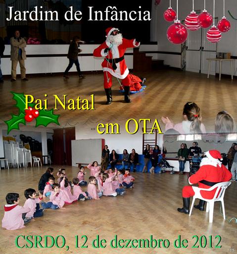 J. Infancia - Pai Natal em Ota 12.12.12