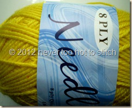 2012 Needles fluoro yellow