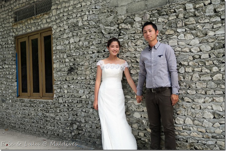 馬爾地夫腳架婚紗 (2)