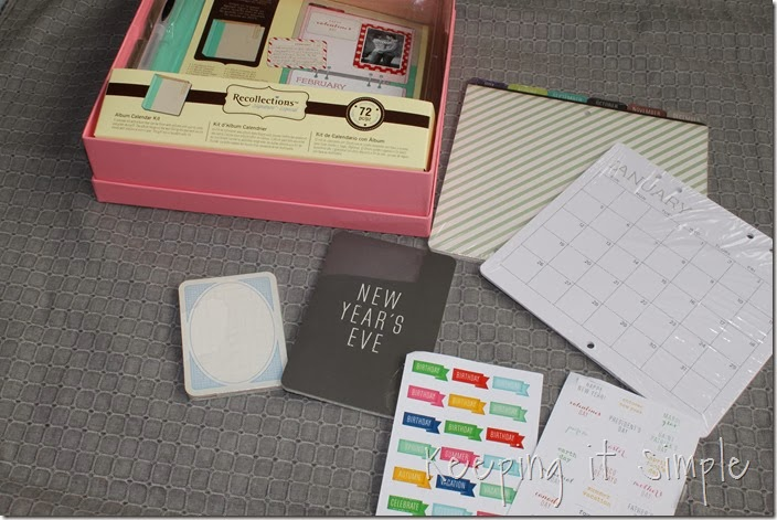 DIY personalized calendar #giftsatmichaels (2)