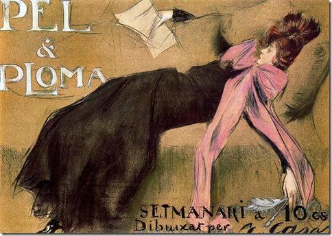 ramon casas i carbo_Pèl & Ploma_1899