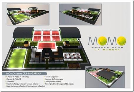 MOMO Sports inaugurará próximamente un nuevo club en La Garena, Alcalá de Henares.