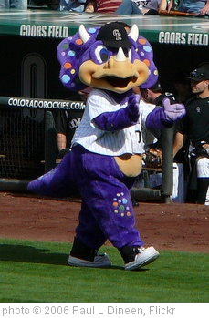 'Dinger, Colorado Rockies mascot' photo (c) 2006, Paul L Dineen - license: http://creativecommons.org/licenses/by/2.0/