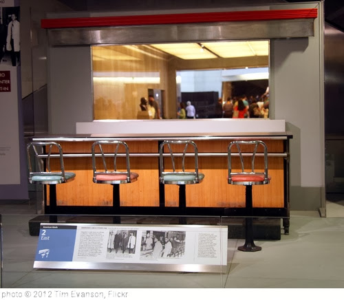 'Woolworth lunch counter - Smithsonian Museum of American History - 2012-05-15' photo (c) 2012, Tim Evanson - license: http://creativecommons.org/licenses/by-sa/2.0/