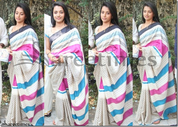 Trisha_White_Fancy_Saree