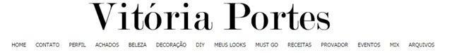 Blog Vitória Portes