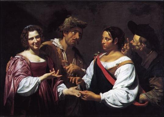 Simon Vouet, La bonne aventure