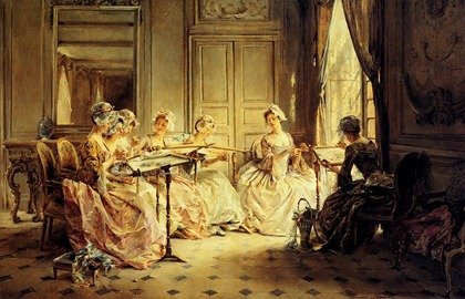 MadeleineJeanneLemaire1845-1928-AnAfternoonEmbroidering