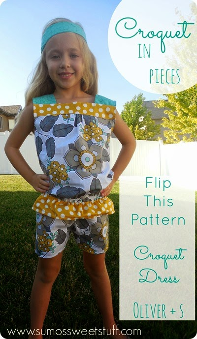 Flip This Pattern - Croquet in Pieces - SumosSweetStuff.com