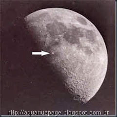 Óvnis na Lua