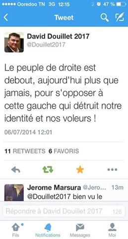 twitter Douillet UMP