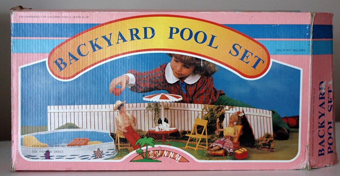 backyard pool set