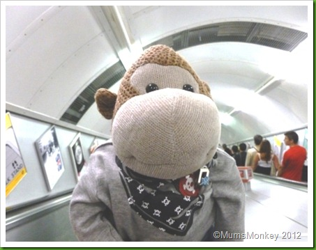 London Underground Monkey