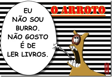 O ARROTO -BURRO