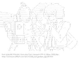 [AA]RGE-B790 GENOACE & Largan Dreiss (Mobile Suit Gundam AGE)