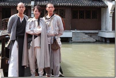 2013.09.03 Eddie Peng during Rise of the Legend - 彭于晏 黃飛鴻之英雄有夢 烏鎮 探班 03