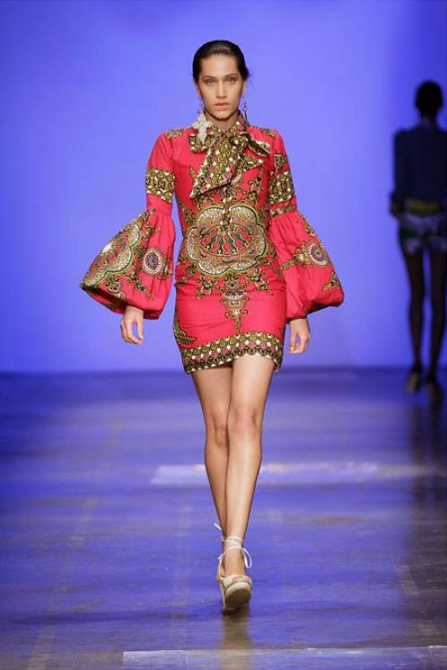 Trendy African Woman Fashion Clothing